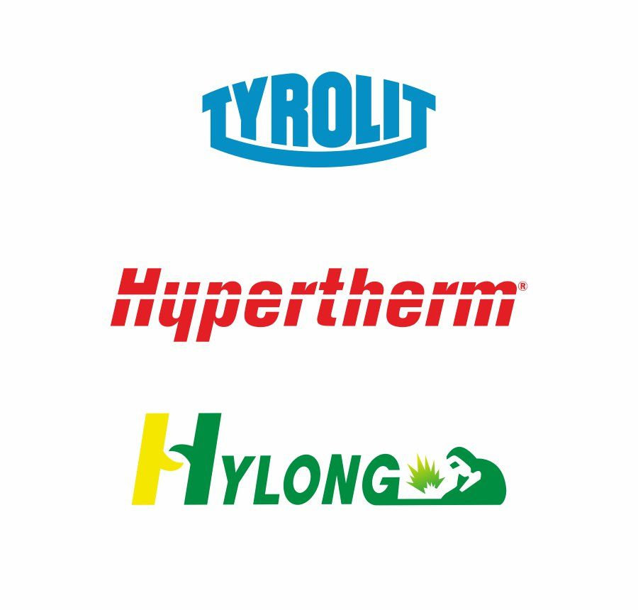 Entrar no site da Hypertherm, logotipo hypertherm.